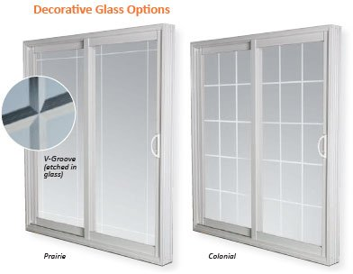 patio doors decorative options edmonton