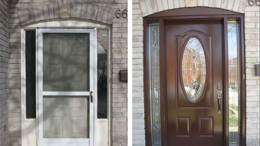 Making the decision to replace exterior doors