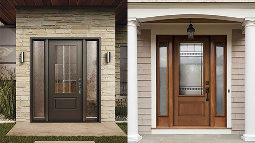 Exterior doors give a good ROI