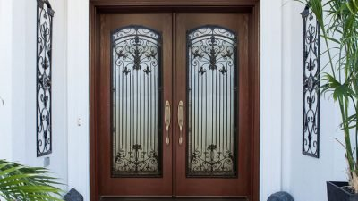 Style options for exterior doors