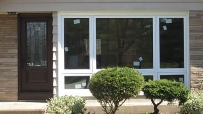 Single double hung window casement or awning