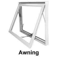 Awning window style