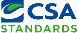 Certified by CSA Standards