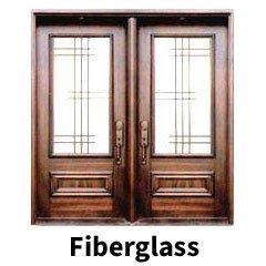 Fiberglass doors style