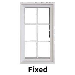 Fixed window style