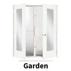 Garden doors style