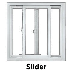 Slider window style