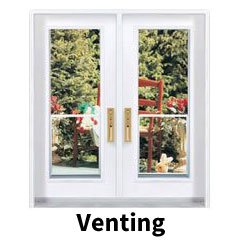 Venting doors style