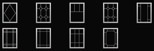 Window Grid Styles