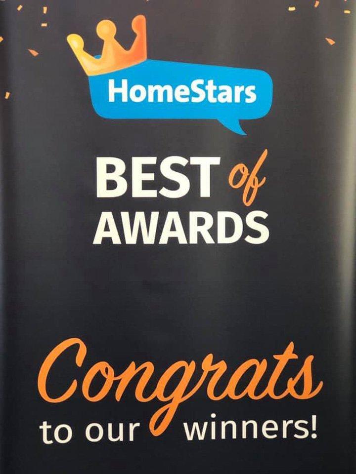 HomeStars Best of 2019 Award