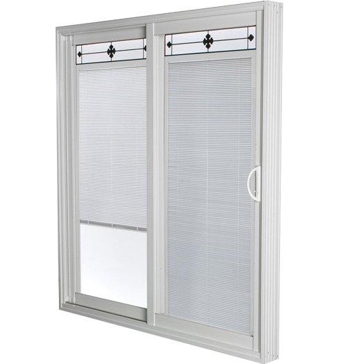 Prarie Wrought Iron Pacific 1000 Sliding Patio Door