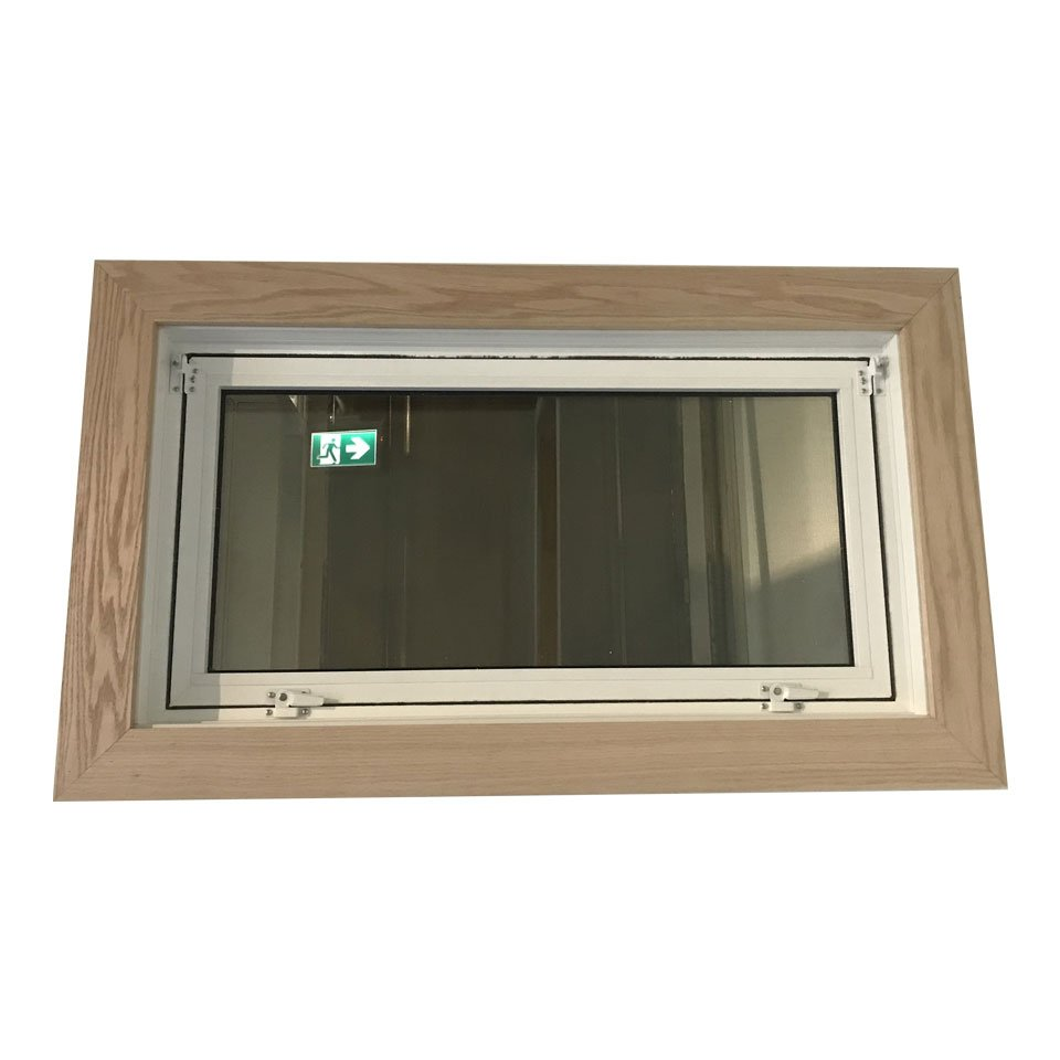 Closed hopper window