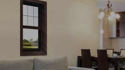 Single double hung windows in Edmonton, AB