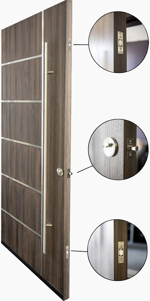 Multipoint door locking system