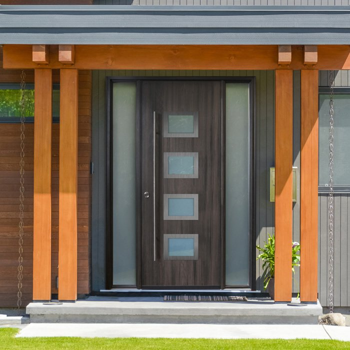 Modern doors in Edmonton