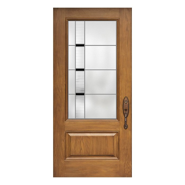 Traditional exterior doors in Canada