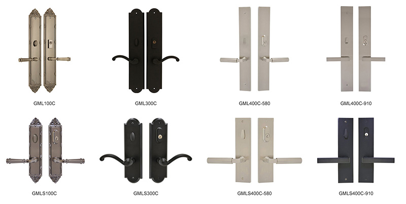 GRAND PLATE MULTILOCK HANDLES