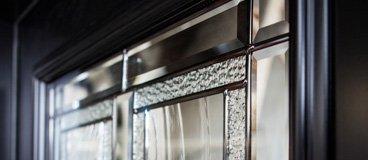 Door glass options