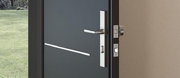 Exterior doors lock set options