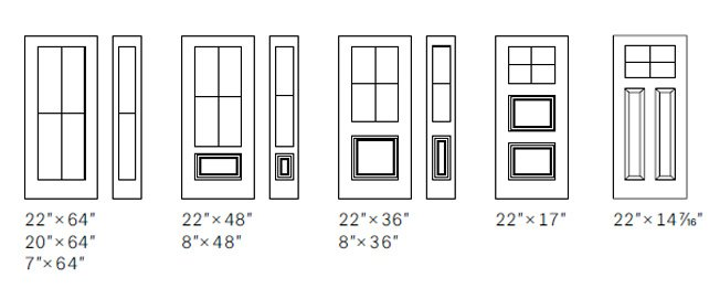 Classic Grill size options
