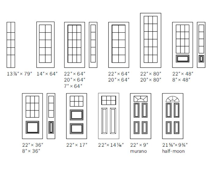 Distinction Grill size options