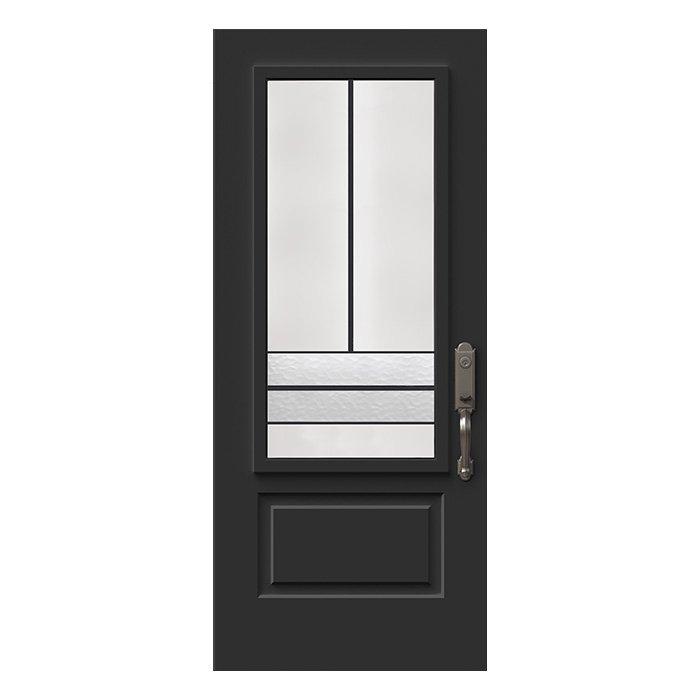 Porte Avenue 22x48 noir