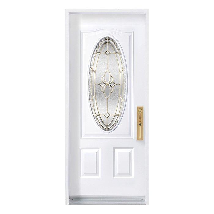 Porte Mystique 16x39 oval Laiton