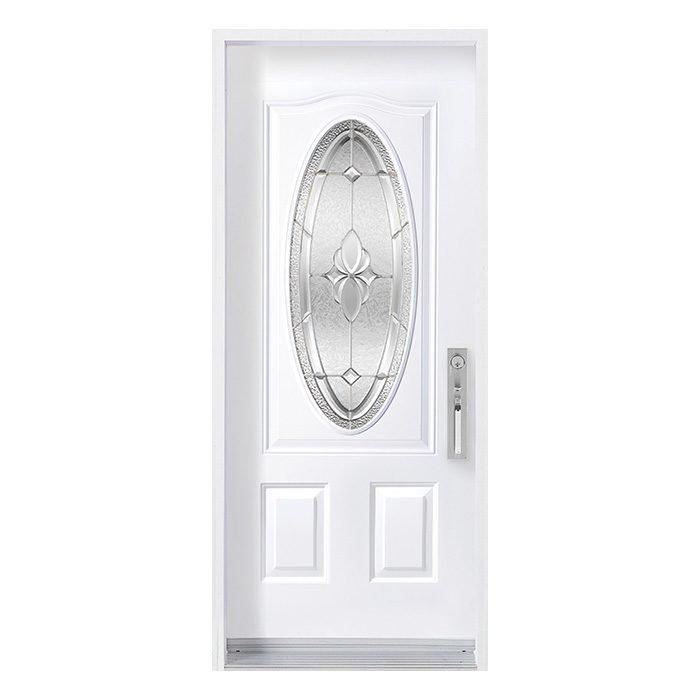 Porte Mystique 16x39 oval Zinc