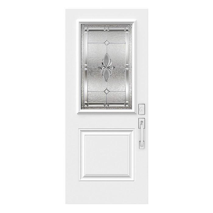 Porte Mystique 22x36 Zinc