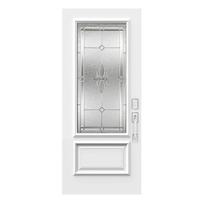 Porte Mystique 22x48 Zinc