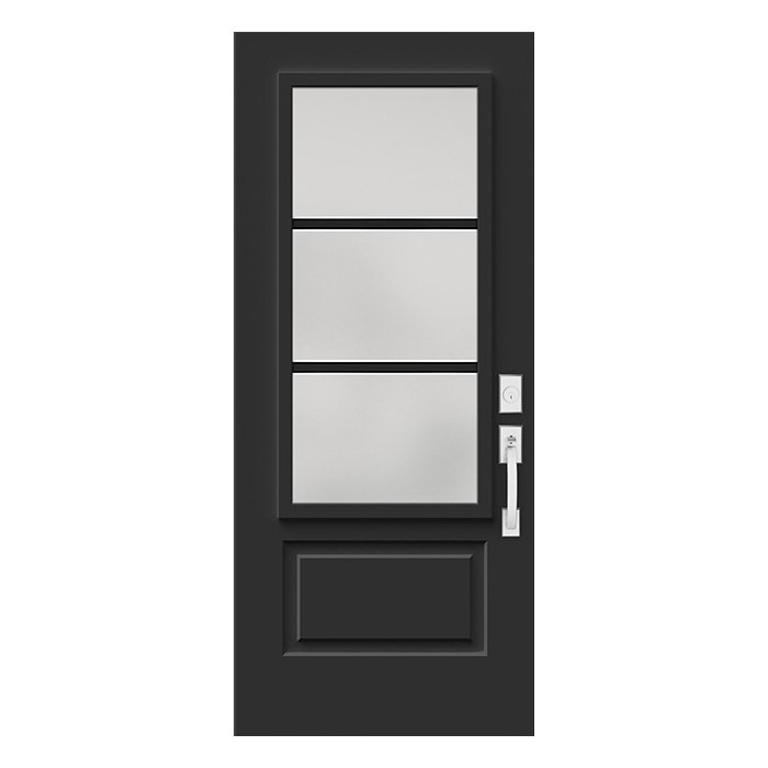 Porte Pure 22x48 noir