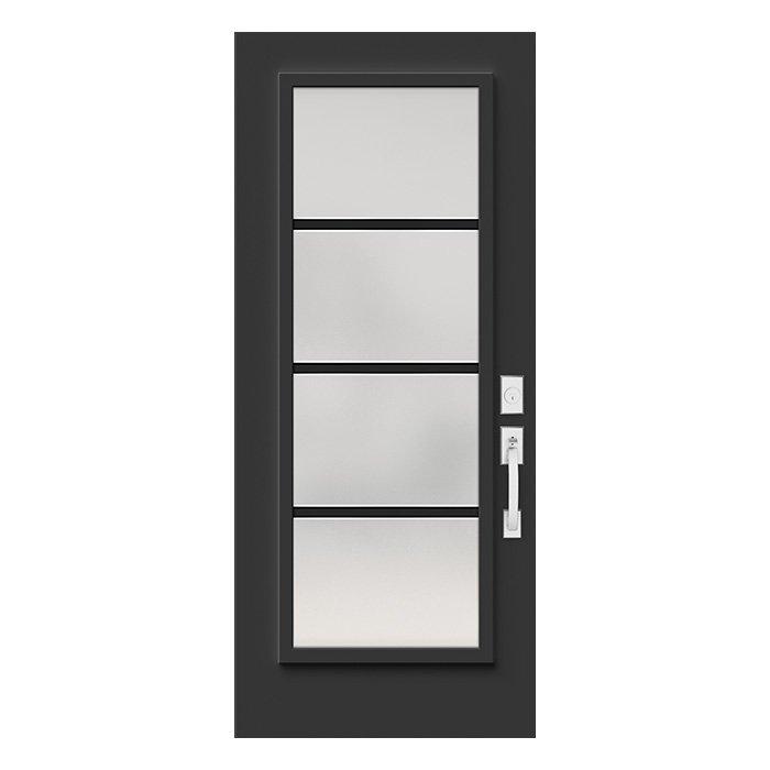 Porte Pure 22x64 noir