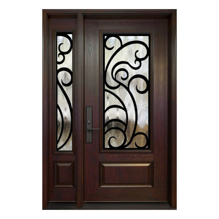 Bordeaux 0X Door 22x48 Sidelite 8x48