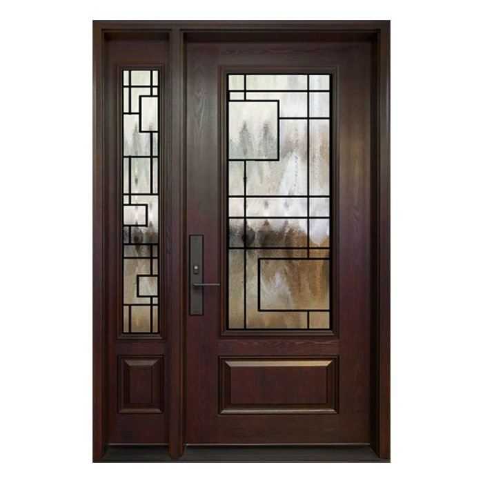 Chicago 0X Door 22x48 Sidelite 8x48