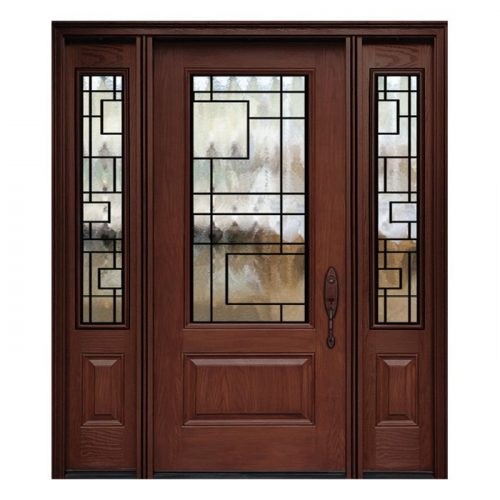 Chicago 0X0 Door 22x48 Sidelite 8x48 FR-03
