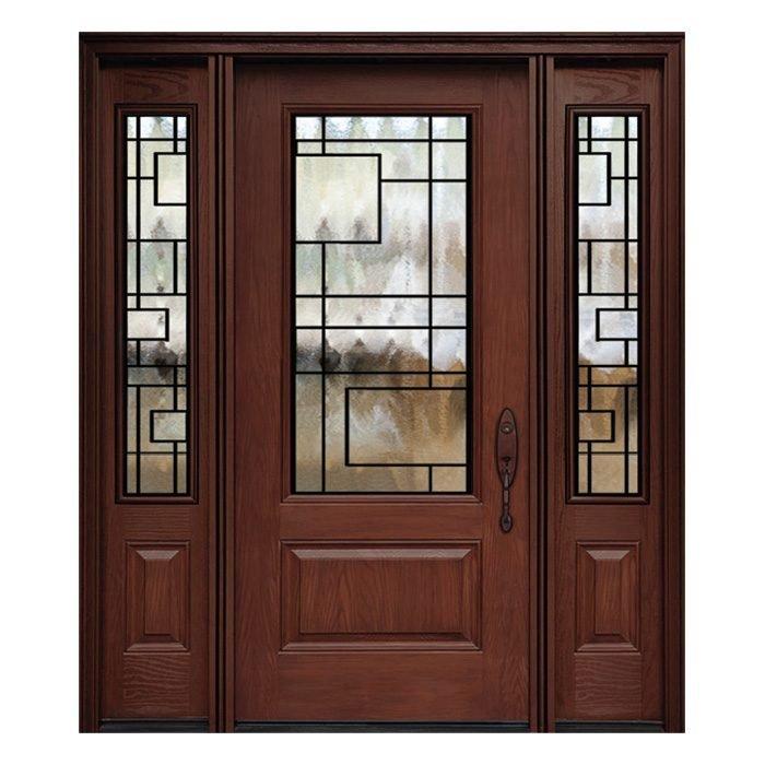 Chicago 0X0 Door 22x48 Sidelite 8x48 FR-03