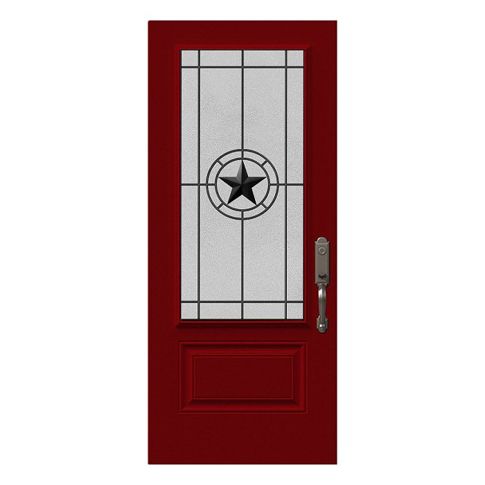 Elegant Star Wrought Iron Main