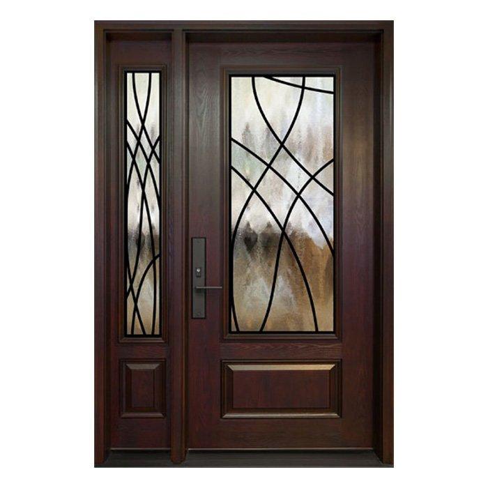 London 0X Door 22x48 Sidelite 8x48
