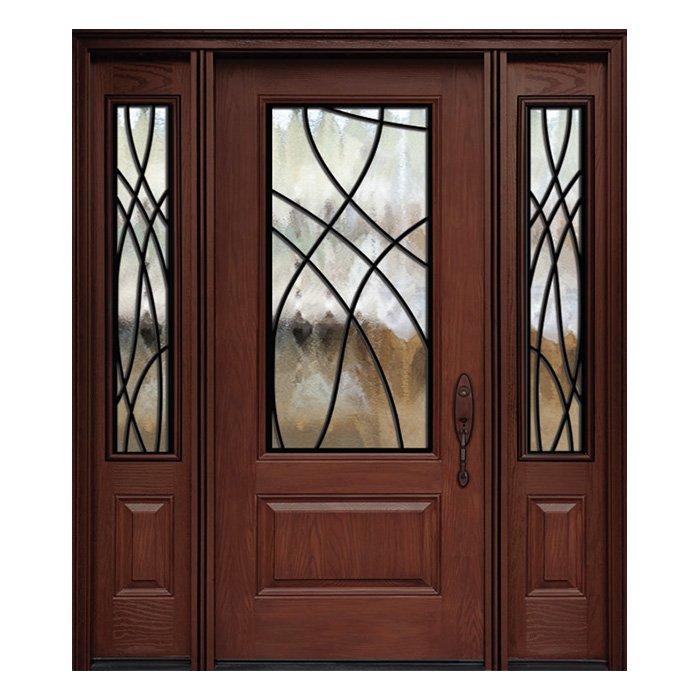 London 0X0 Door 22x48 Sidelite 8x48 FR-02