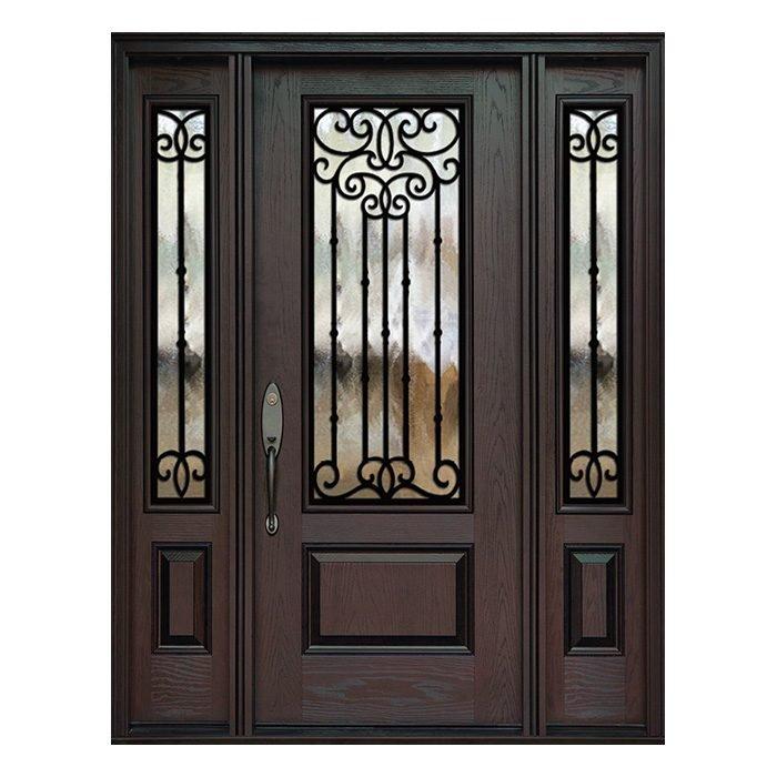 Madrid 0X0 Door 22x48 Sidelite 8x48 FR-02