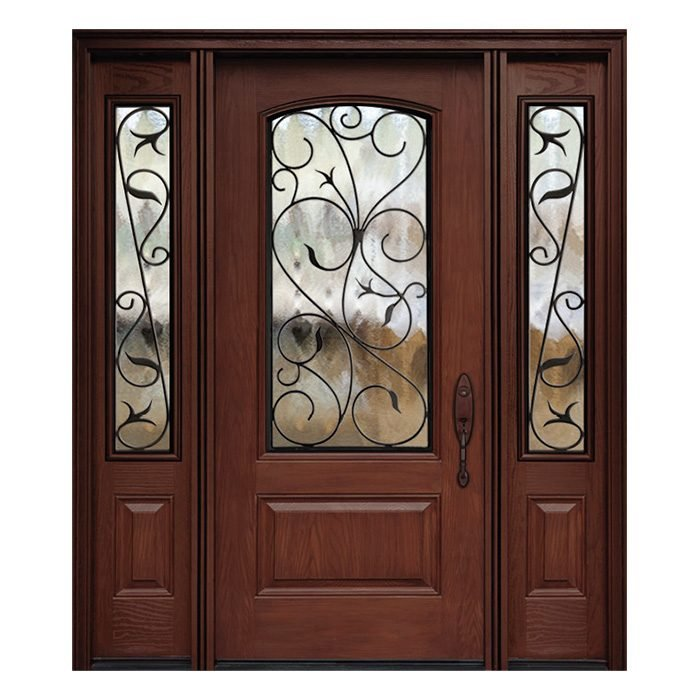 Marbella 0X0 Door 22x48 Sidelite 8x48 FR-03 Camber top