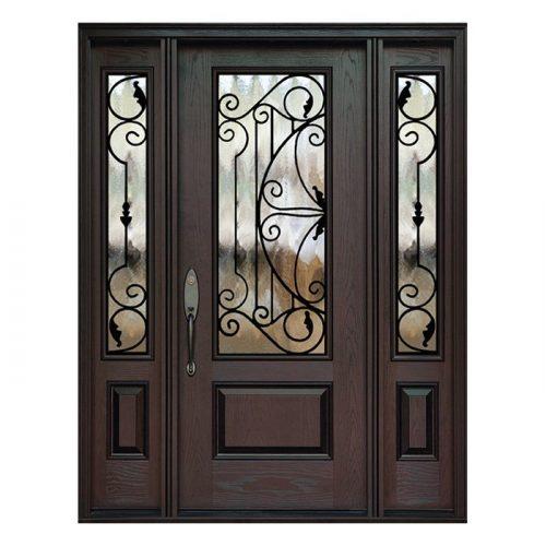 Melbourne 0X0 Door 22x48 Sidelite 8x48 FR-02