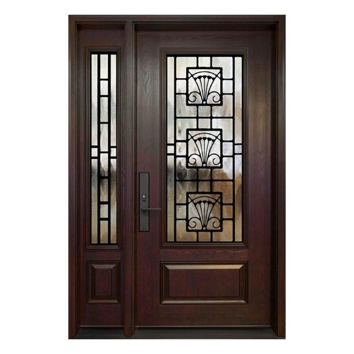 Munich 0X Door 22x48 Sidelite 8x48