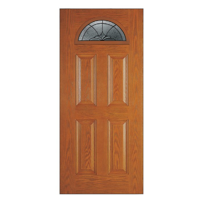 Niagara Door 22x10 Half Moon Patina