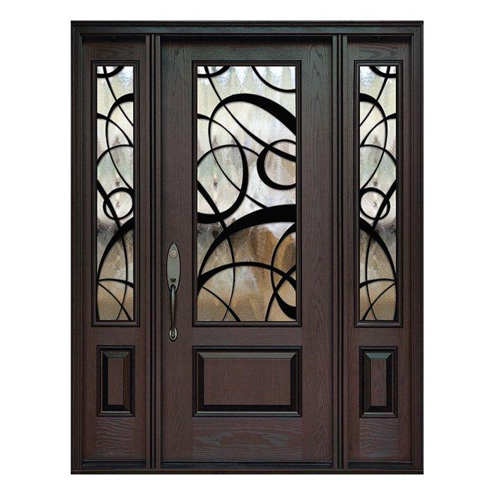 Paris 0X0 Door 22x48 Sidelite 8x48 FR-02