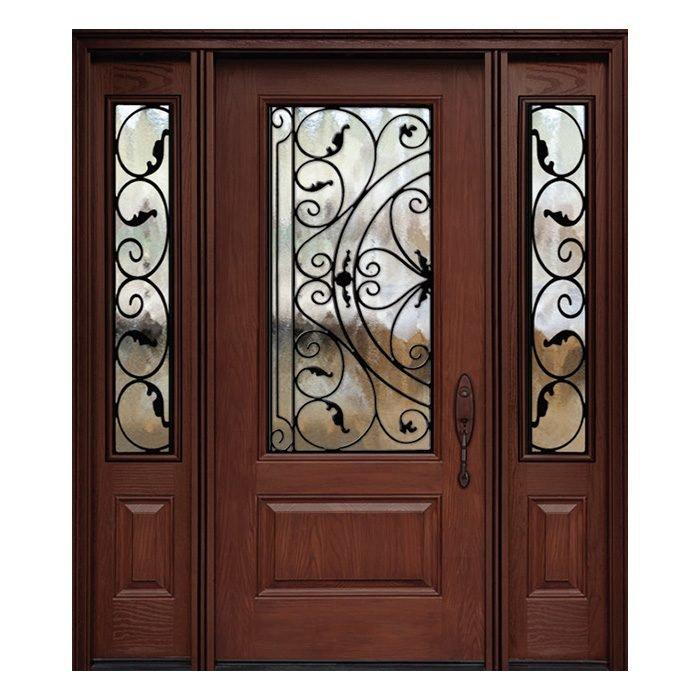 Rome 0X0 Door 22x48 Sidelite 8x48 FR-02