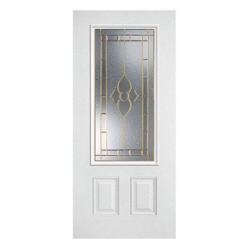 Star Door 22x48 Brass
