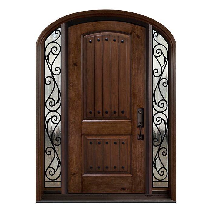 Venice 0X0 Door planked Sidelite 7x64 FRS-09 Camber top