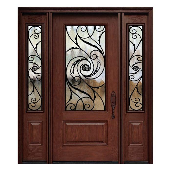 Vienna 0X0 Door 22x48 Sidelite 8x48 FR-02