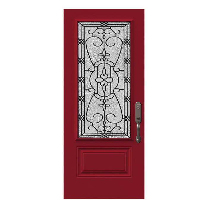 Black Diamond Door 22x48
